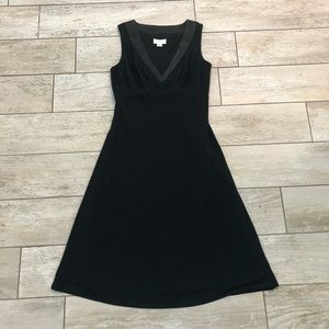 LOFT Sleeveless Little Black Dress